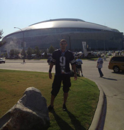 Rob Holiday at Cowboys Stadium